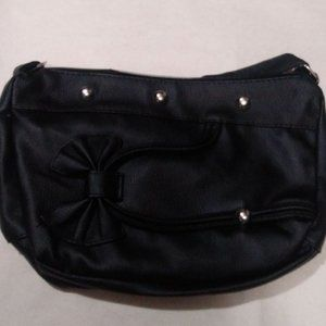 "New Black Women's Purse 12"" x 8"""